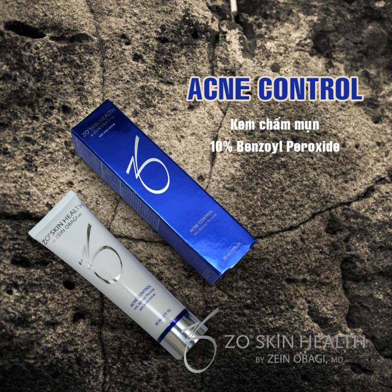 Kem hỗ trợ điều trị mụn trứng cá Zo Skin Health Acne Control