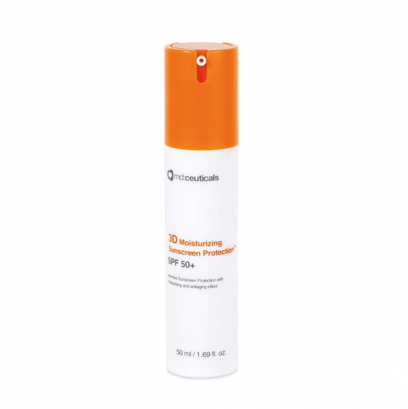 MD ceuticals 3D moisturizing sunscreen protection