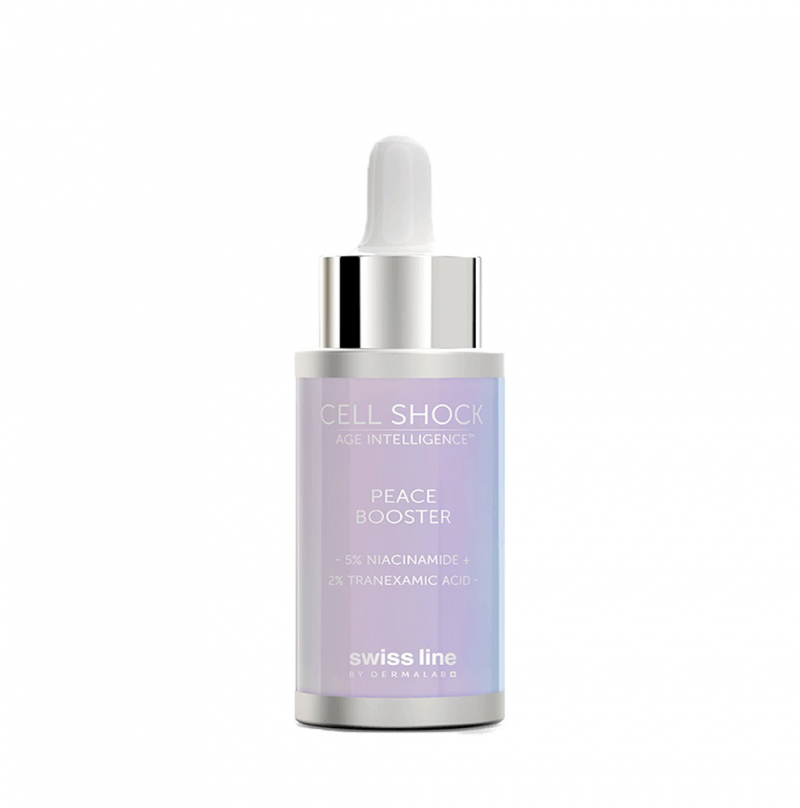 Swissline Cell Shock Age Intelligence Peace Booster 5% Niacinamide + 2% Tranexamic acid