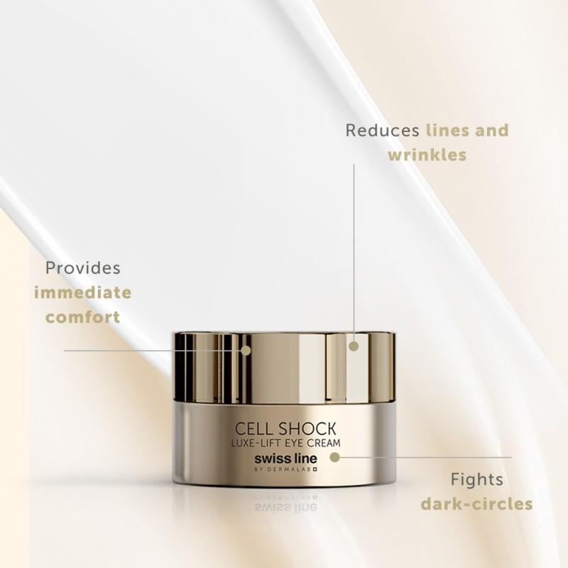 Swissline Cell Shock Luxe-lift Eye Cream