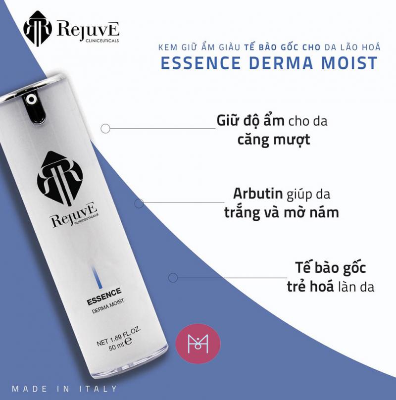 Rejuve Essence Derma Moist Moisturiser Stem Cells