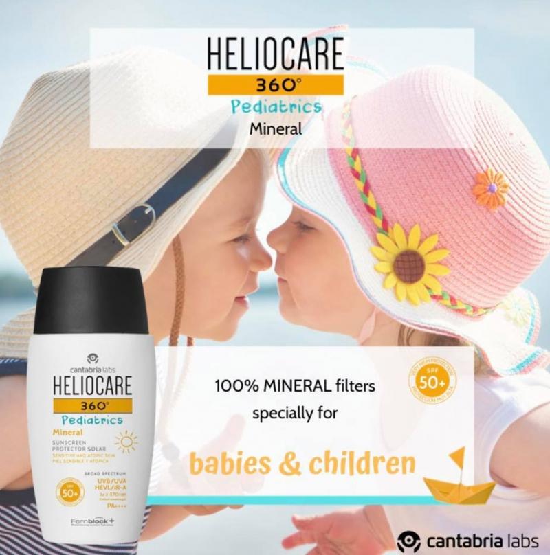 HELIOCARE 360 PEDIATRICS MINERAL SPF 50