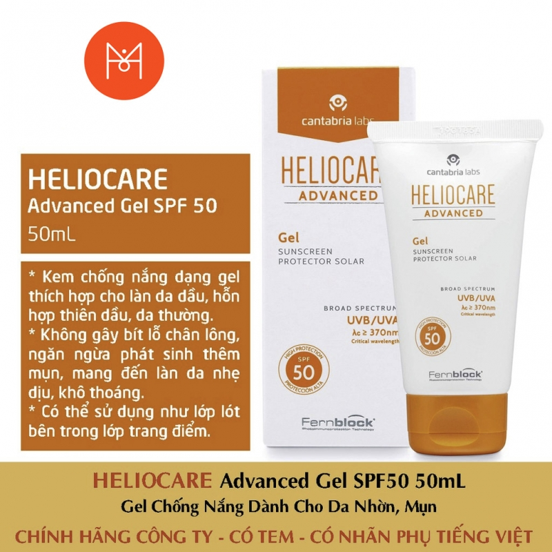 HELIOCARE ADVANCED GEL SPF 50