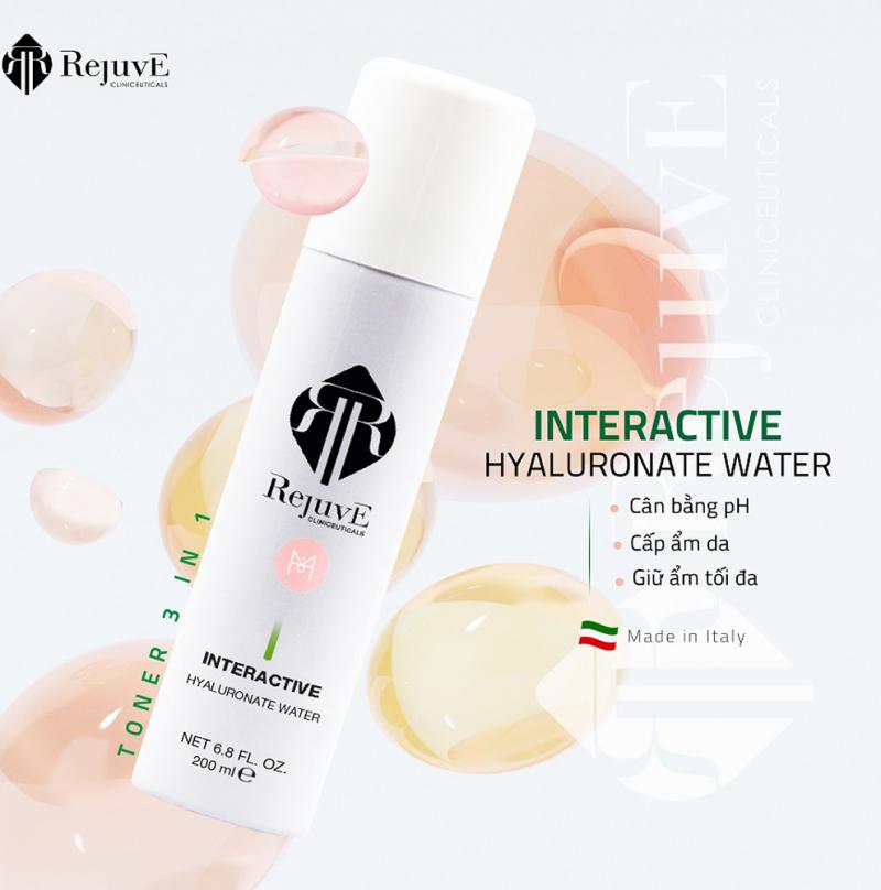 Rejuve Interactive Hyaluronate Water