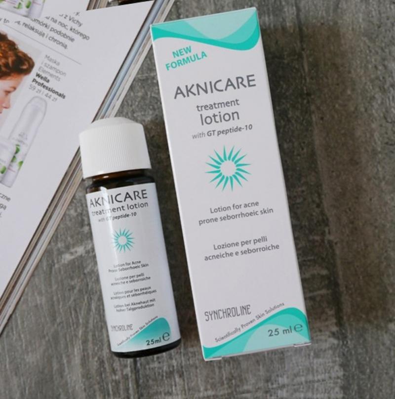 Aknicare Treatment Lotion_Tinh chất làm khô nhân mụn, kiểm soát mụn mủ và mụn bọc