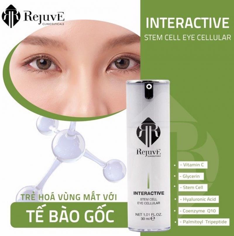 Rejuve Interactive Stem Cells Eye Cellular