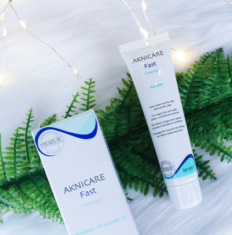Aknicare Fast Cream Gel_Kem đặc trị cho cho da dầu mụn